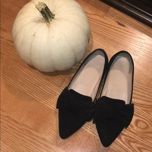 BP black flats with bow